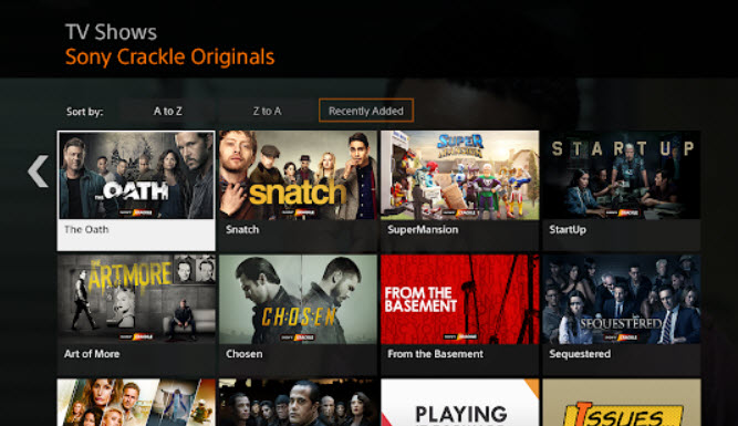 Sony Crackle Download